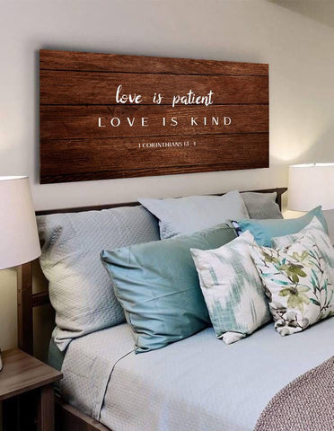Image of Love is Patient, Love is Kind #12 Canvas Print