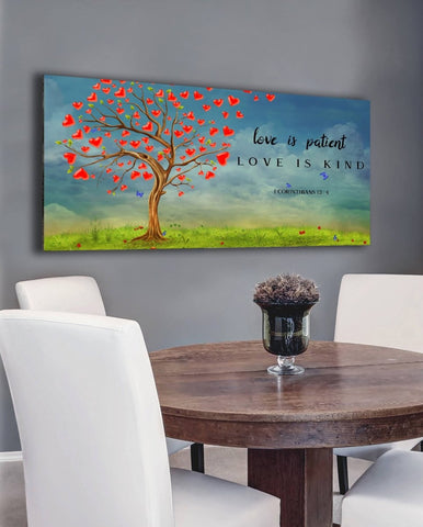 Image of Love is Patient, Love is Kind #16 Canvas Print