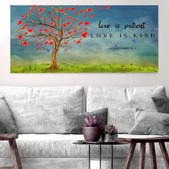 Love is Patient, Love is Kind #16 Canvas Print