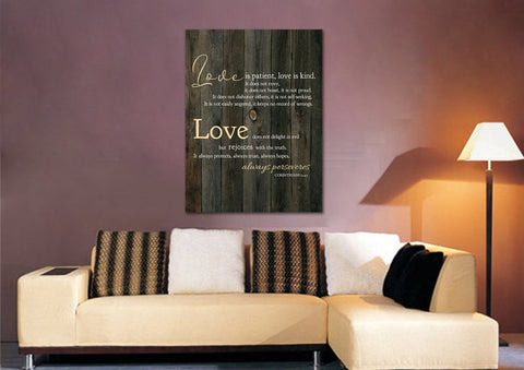 Love is Patient, Love is Kind #17 Canvas Print