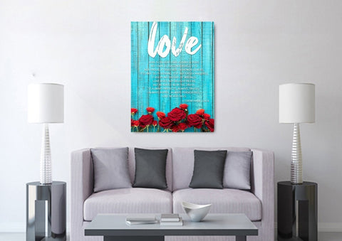 Image of Love is Patient, Love is Kind #5 Canvas Print