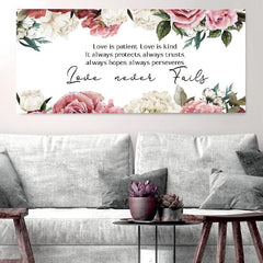 Love is Patient, Love is Kind #8 Canvas Print