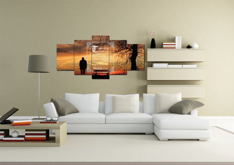 Image of Matthew 11:29 Canvas Wall Art Print - Christian Walls