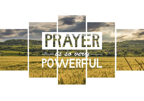 Prayer is so very Powerful Canvas Wall Art Print