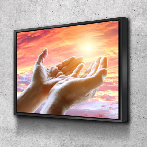 Prayer with Open Hands #21 Wall Art