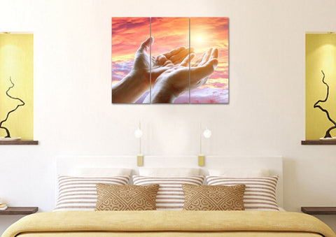 Image of Prayer with Open Hands #21 Wall Art