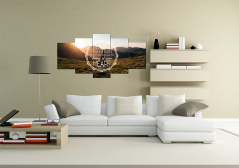 Image of Psalm 37:4 Delight Yourself in the Lord Canvas Wall Art Print