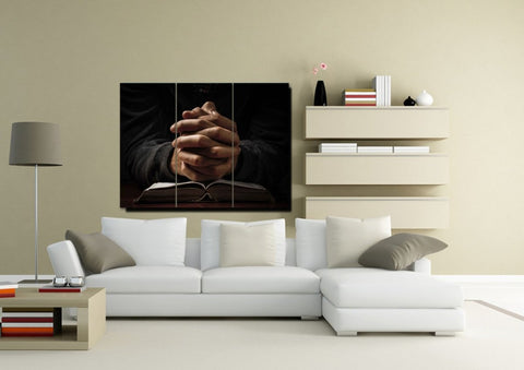 Quiet Hands in Prayer #13 Wall Art
