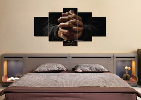 Image of Quiet Hands in Prayer #13 Wall Art