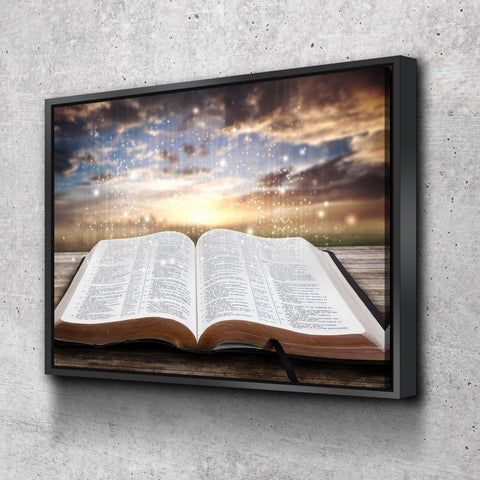 Image of Starry Bible #19 Wall Art