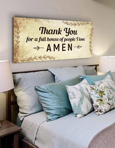 Image of Thank you for Love - Christian Signs for Home