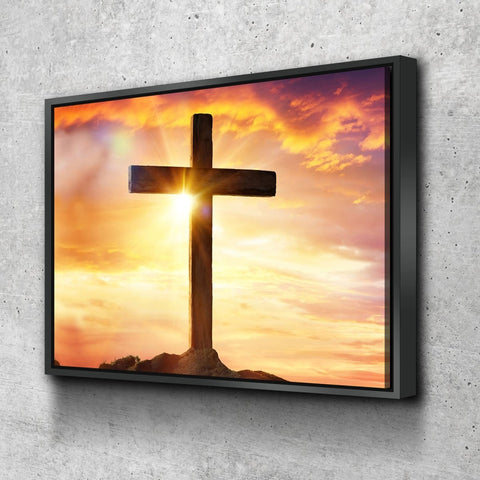 Image of The Bright Cross #39 Wall Art