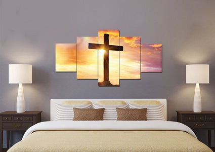 The Bright Cross #39 Wall Art