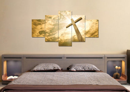 The Cross Facing God's Love #1 Canvas