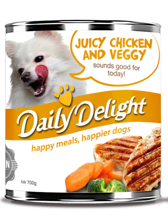 Daily Delight Singapore, Daily Delight Dog Food Singapore, The Fluffy Hut
