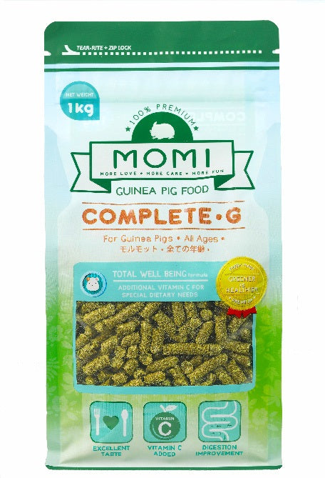 Momi Singapore, Momi Guinea Pig Pellets, The Fluffy Hut