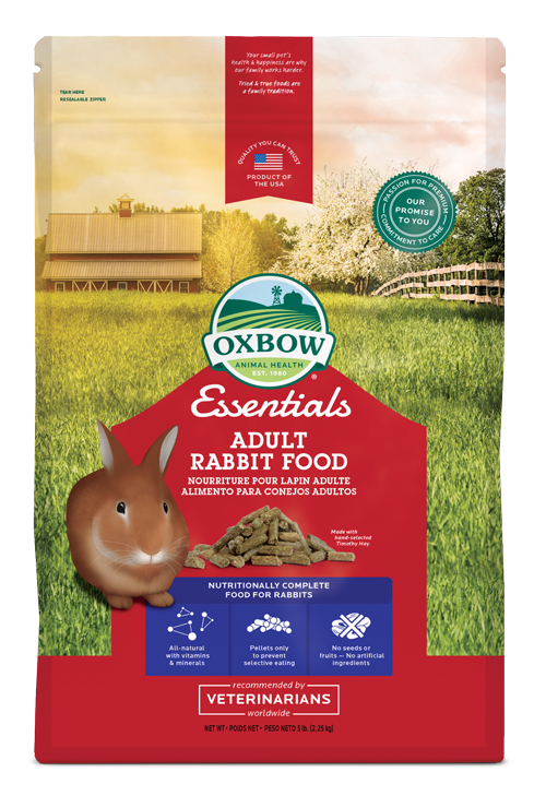Oxbow Pellets, Oxbow Singapore, Oxbow Essentials Singapore, The Fluffy Hut