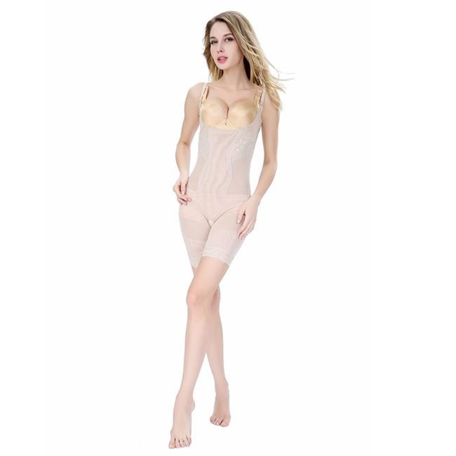 ShapeWear - Luxury Body Shaper For Squeeze Free Shaping - Improves Posture, Firms-Up Post-Partum Sag