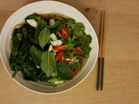 Immune Boosting Vegetable Noodle Soup