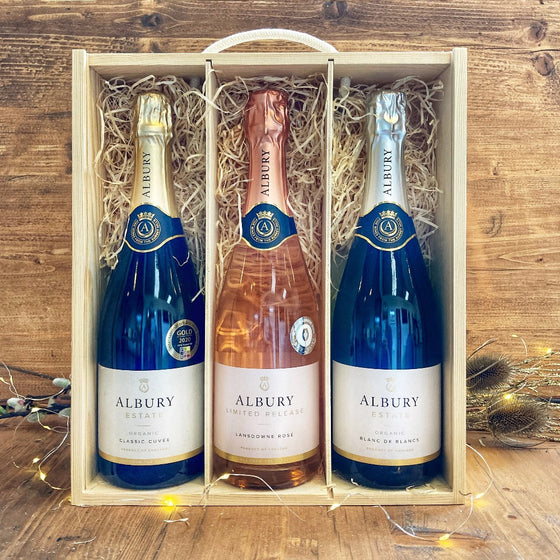 The Albury Sparkling Wine Box