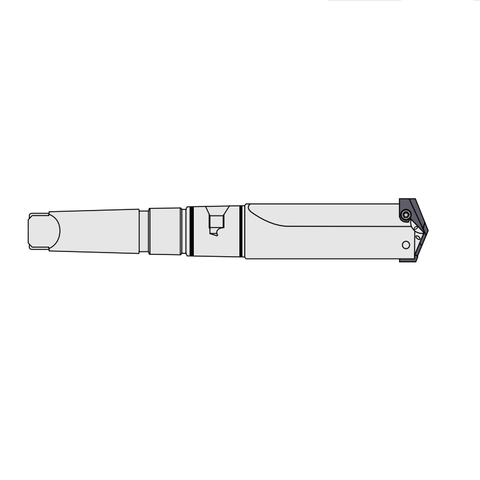 Morse Taper Shank - Straight Flute - Short - (Drilling Range 9.5mm - 114mm)