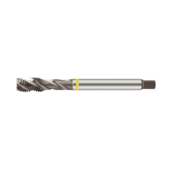 M6 X 1.0 Spiral Flute Yellow Machine Tap - Europa Tool TM17160600 - EW Equipment Engineering Tools