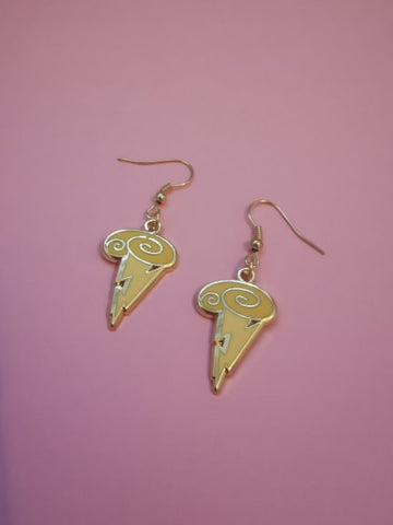 Symbol of the Gods earrings