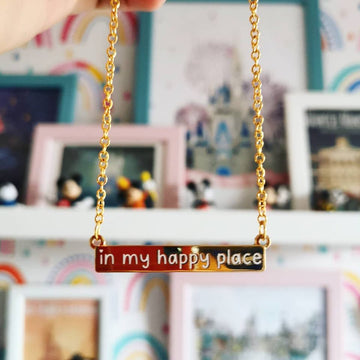 In My Happy Place Necklace