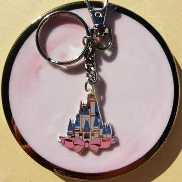 SECONDS Floridian Castle Keychain