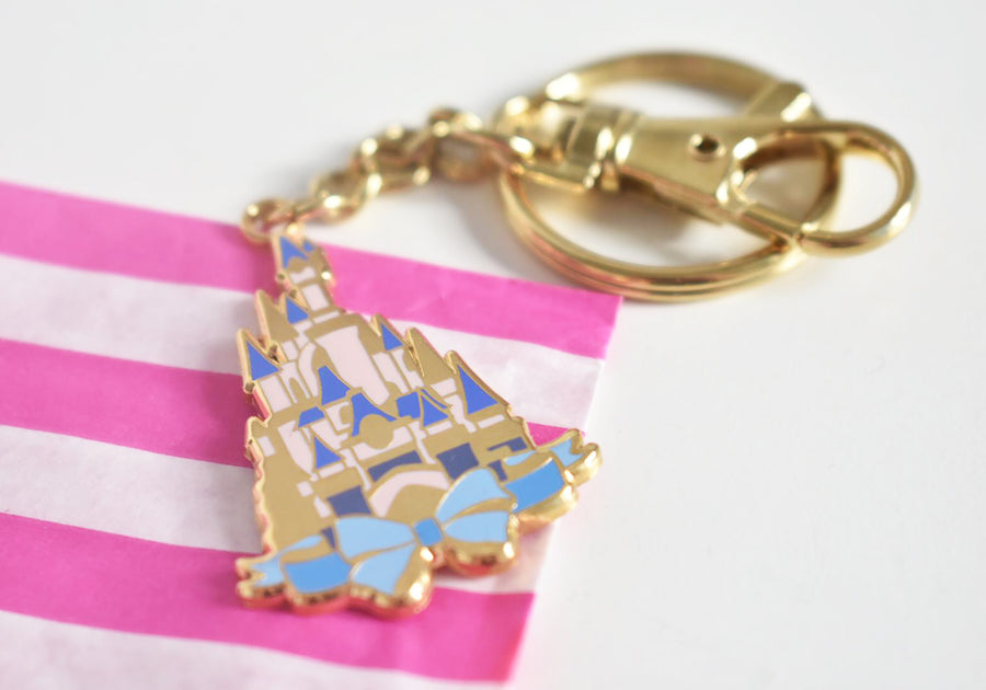 SECONDS Parisian Castle Keychain