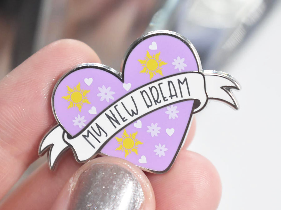 My New Dream Enamel Pin