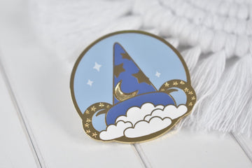 Hollywood Ear Hat Enamel Pin