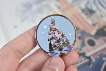 Parisian Castle Enamel Pin