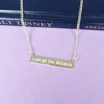 SECONDS I Can Go The Distance Necklace