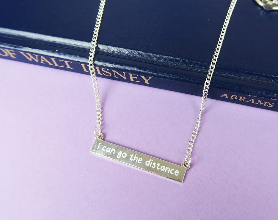 I Can Go The Distance Necklace