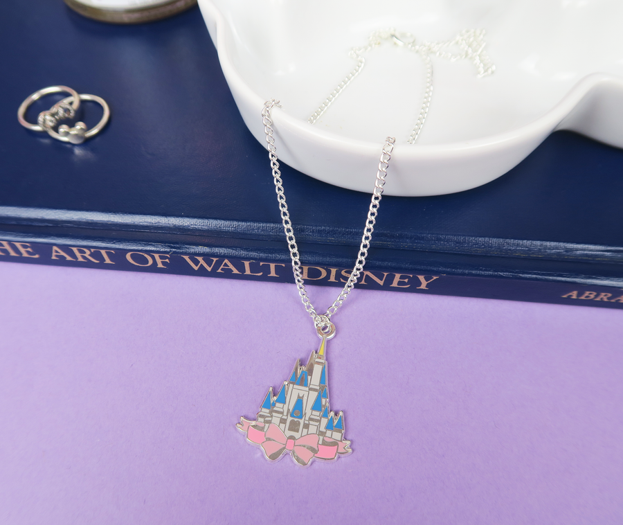 Floridian Castle Silver Necklace