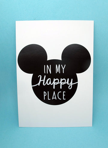 My Happy Place Print