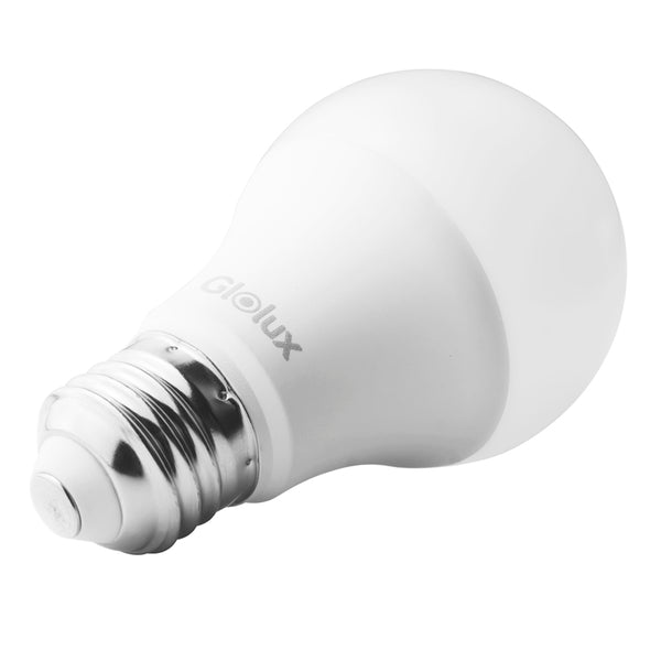 Glolux A19 LED Light Bulb, 60 Watt Equivalent, Soft White 3000K 9 Watt Pack of 6