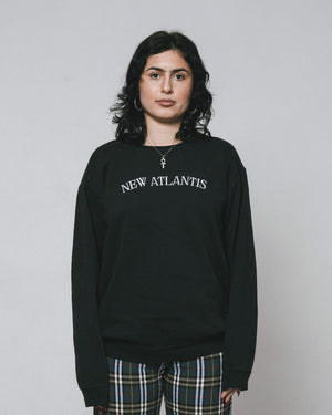 New Atlantis sweater - Black/White