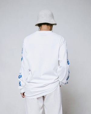 Disillusion longsleeve – White