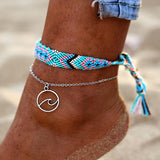 Rune Wave Anklet