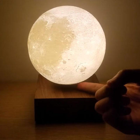 Levitating 3D Moon Lamp