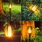 Solar Flame Lamp Torch
