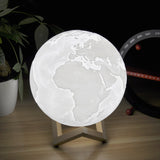 3D Enchanting Earth Lamp