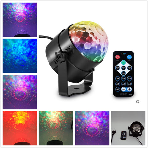 Ocean Wave Stage Lighting Projector