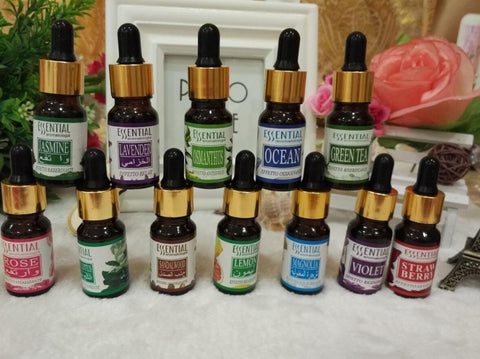 10ml Essential Oil for Aromatherapy 12 Kinds - ZENLETA