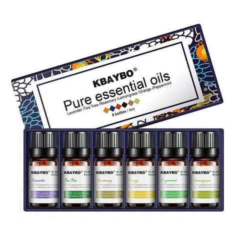 6 Pure Essential Oil Save 50% Price ! - ZENLETA