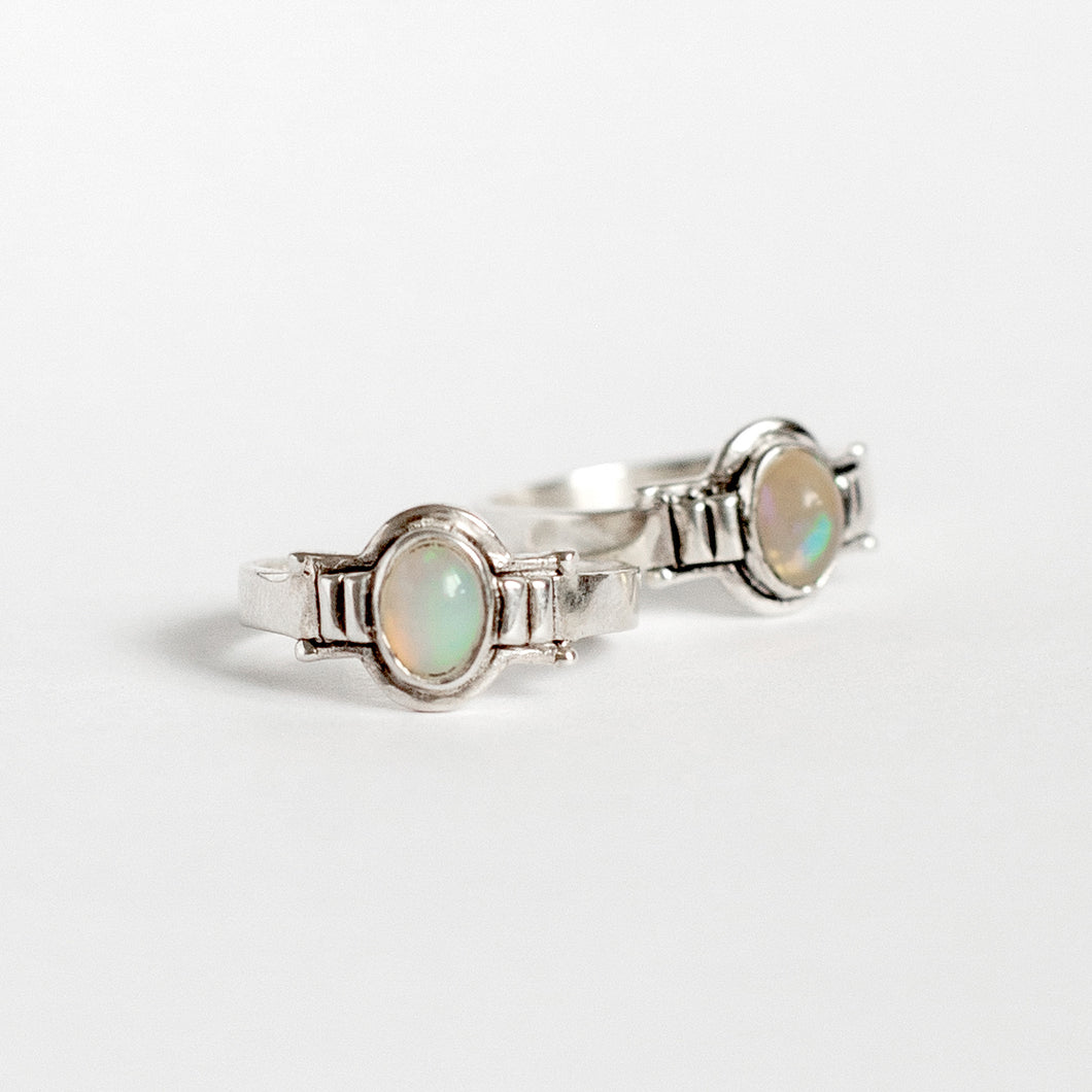 LETO RING • OPAL • MADE-TO-ORDER