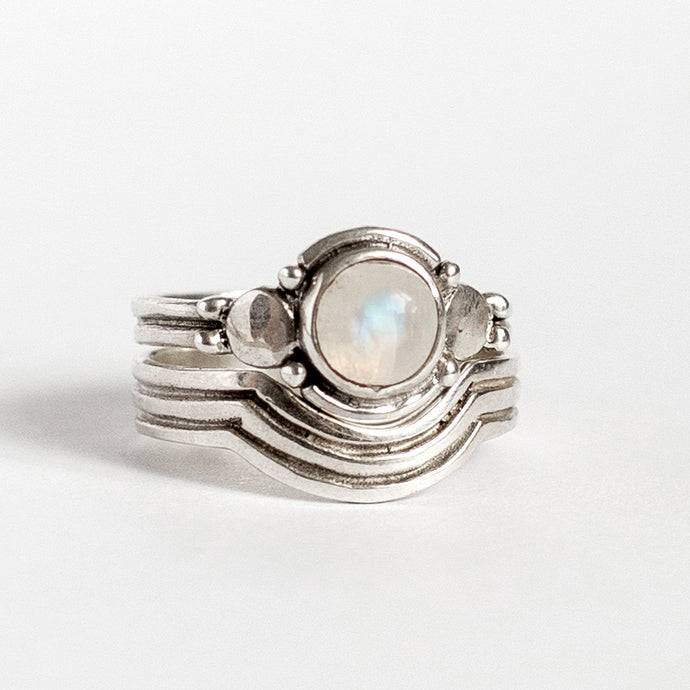 NOAH RING • MOONSTONE • MADE-TO-ORDER