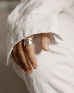 SIDNEY WIDE RING • MADE-TO-ORDER